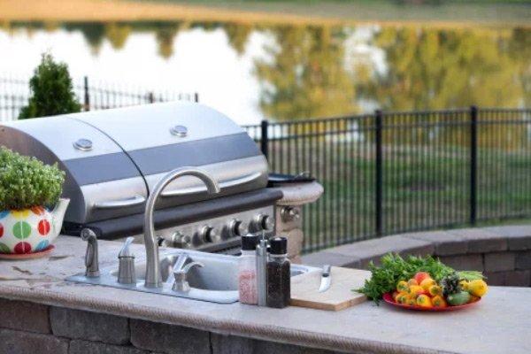 , Outdoor Kitchen, AMW